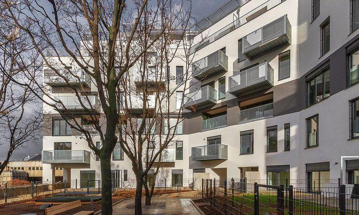 Wohngebäude im Althanpark