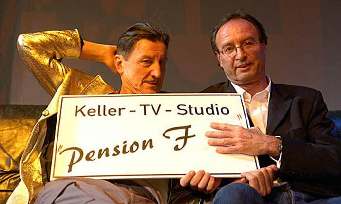 Hubsi Kramar und Hermann Fritzl