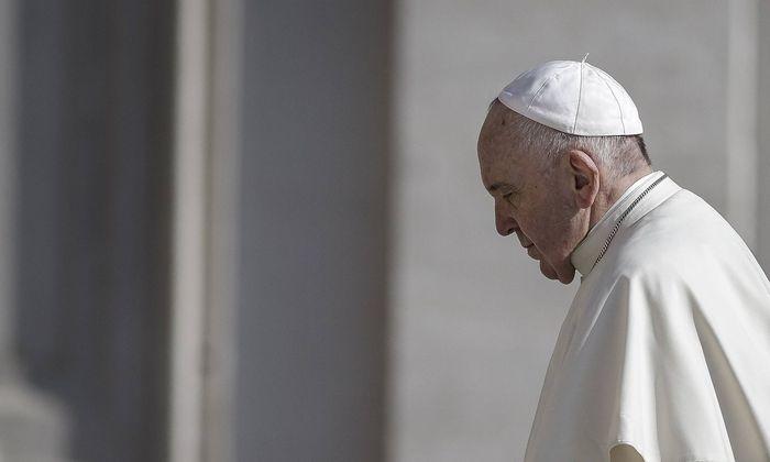 Vatican Pope Francis Weekly General Audience Pope Francis arrives to lead the weekly General Audien
