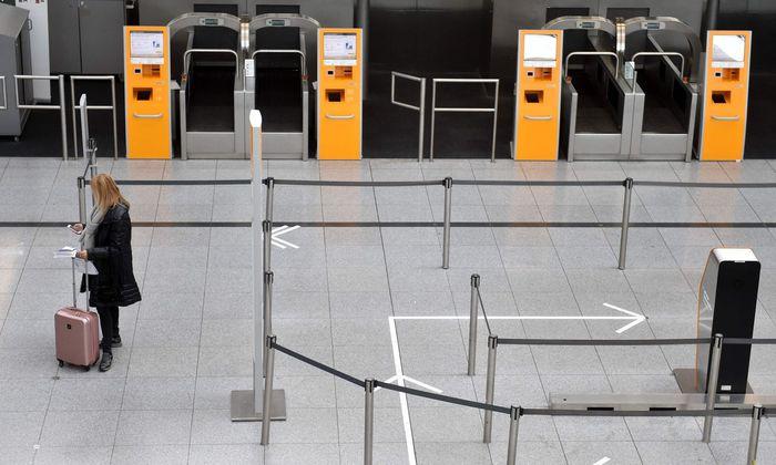 Die Lufthansa-Terminals bleiben leer: 700 abgesagt Flüge
