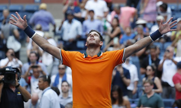 Das beste Tennis seines Lebens? Juan Martín del Potro bittet heute in Flushing Meadows zum Showdown.