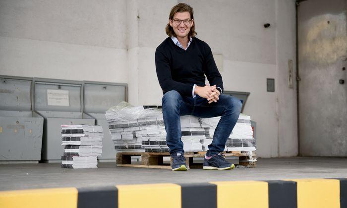"""N26-Gründer und -CEO Valentin Stalf sieht keine Bedrohung durch Apple oder Google. Diese seien eher """"gute Partner""""."""