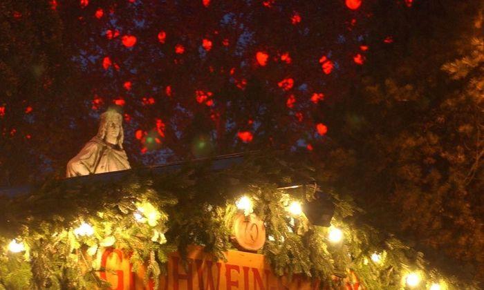 Bis heuer stand der Herzerlbaum im Advent beim Rathausplatz.