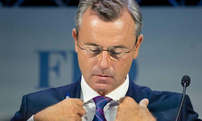 FPÖ-Chef Norbert Hofer suspendierte FPÖ-Klubobmann Martin Huber