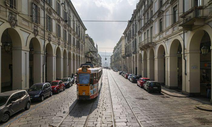 Straßenbahn in Turin