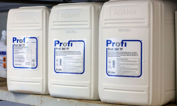 Pflanzenschutzmittel mit Glyphosat