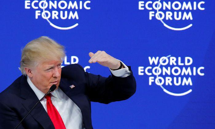 US-Präsident Donald Trump war letzte Woche beim Weltwirtschaftsforum in Davos zu Gast.