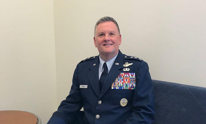 Bradley Webb (56) ist Chef der US-Air-Force-Spezialeinheit.