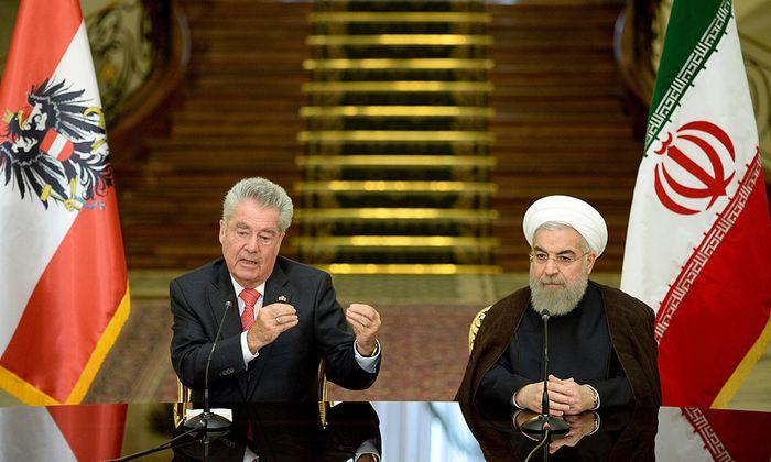 BP FISCHER IM IRAN: FISCHER / ROHANI