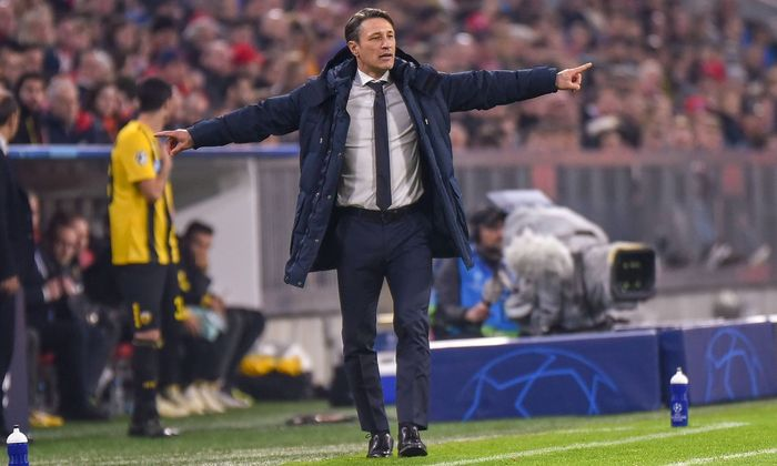 Trainer Niko Kovac FC Bayern Muenchen Deutschland Muenchen 07 11 2018 Fussball UEFA Champions