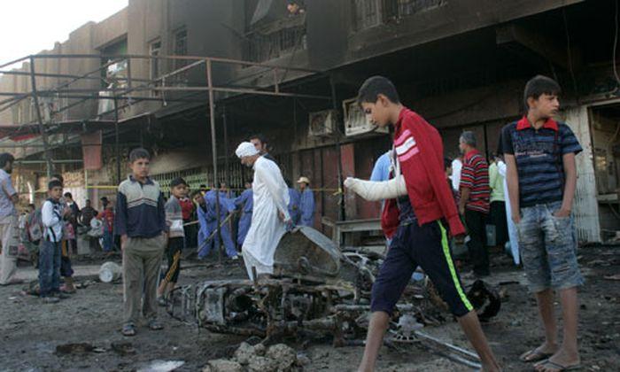 Tote Serie Explosionen Bagdad