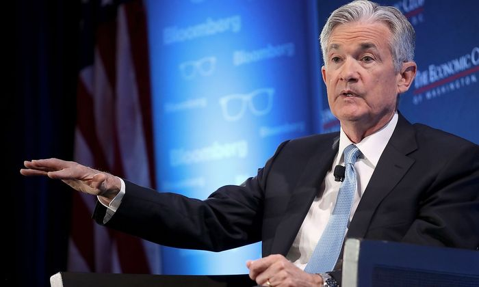 US-FED-CHAIR-JEROME-POWELL-ATTENDS-DISCUSSION-AT-ECONOMIC-CLUB-O
