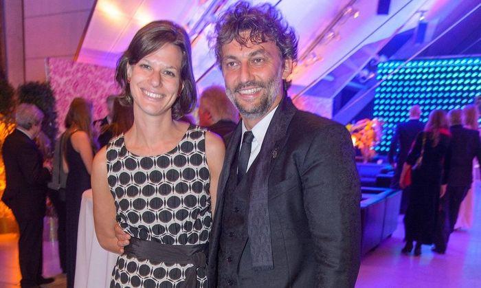 Jonas Kaufmann mit Christiane Lutz