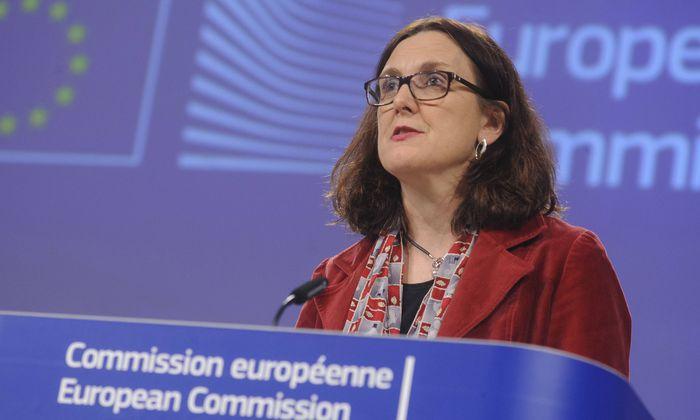 Handelskommissarin Cecilia Malmström.