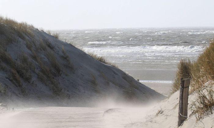 Die deutsche Nordseeinsel Langeoog.