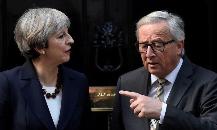 """Thersa May, Jean-Claude Juncker: """"technische"""" Schwierigkeiten"""