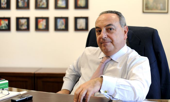 Muss rund um die Uhr von Leibwächtern beschützt werden: Der sizilianische Oberstaatsanwalt Francesco Lo Voi.