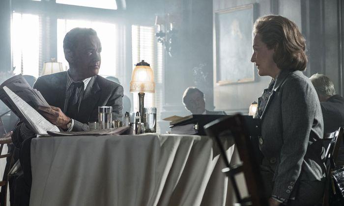 """Tom Hanks und Meryl Streep als Protagonisten in dem Mediendrama """"The Post""""."""