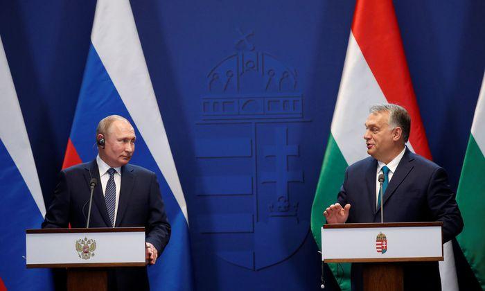 Der russische Präsident weilte am Mittwoch erneut in Budapest.
