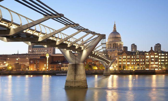 Wechselnd bewölkt ist derzeit der Wohnungsmarkt in London.