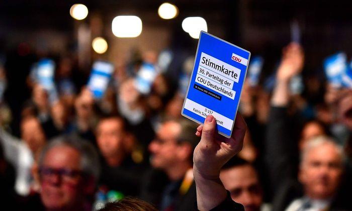 Abstimmung bei der CDU