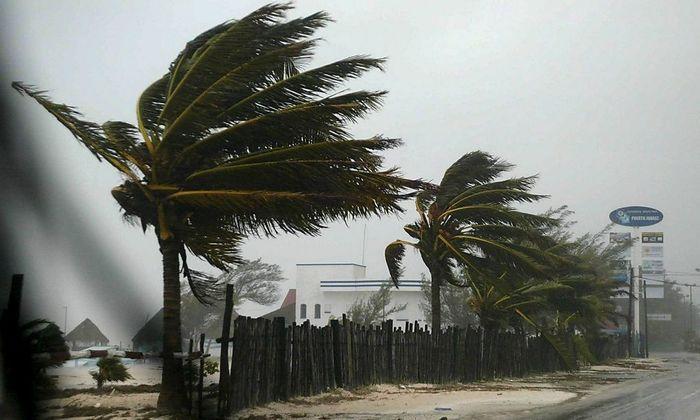Einer der vielen Hurricanes des vergangenen Jahrzehnts: Wilma am 21. Oktober 2005 in Mexiko.