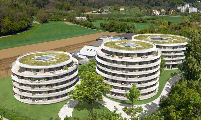 Im Grazer Stadtteil Straßgang entstehen 139 Wohnungen, Gesamtinvestitionssumme ist 43,35 Mio. Euro.