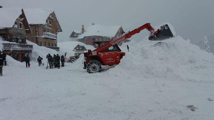Im Jänner musste das Hochkar wegen zu viel Schnee gesperrt werden.
