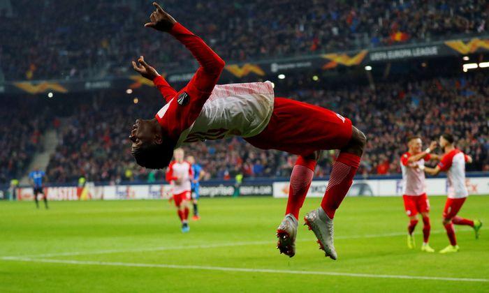 Europa League - Round of 32 Second Leg - RB Salzburg v Club Brugge