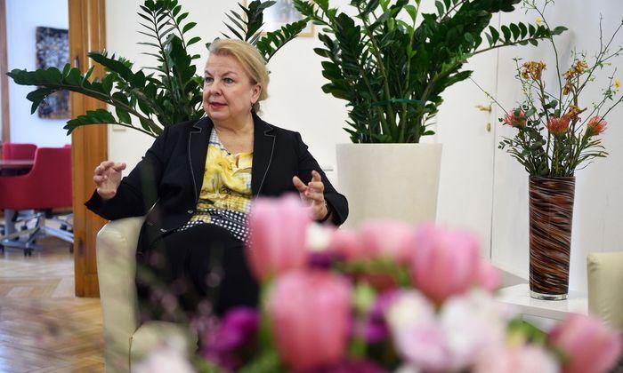 Sozialministerin Beate Hartinger-Klein (FPÖ)