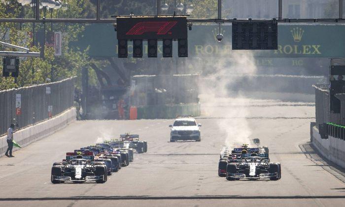 Motorsports FIA Formula One World Championship WM Weltmeisterschaft 2019 Grand Prix of Azerbaijan
