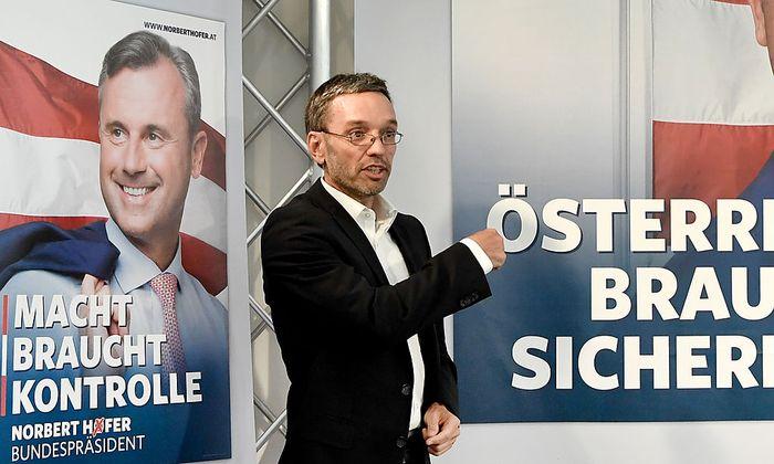 FPÖ-Generalsekretär Herbert Kickl