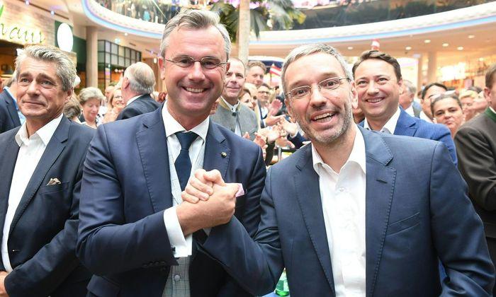 "Das ""Dynamische Duo Norbert Hofer und Herbert Kickl."