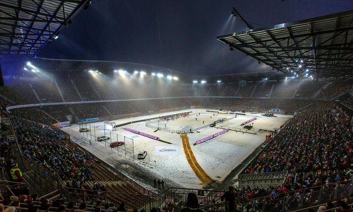 Klagenfurter Stadion Auf Baume Soll Eis Spielplatz Folgen