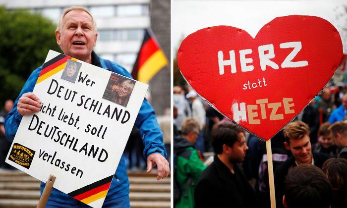"""""""Pro Chemnitz"""", Contra Rechtsextremismus - Bilder aus Chemnitz"""