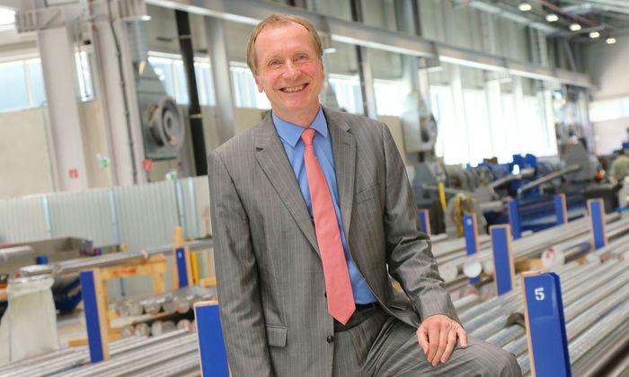 SBO-Chef Gerald Grohmann: Unsere Auftragsbücher sind gut gefüllt