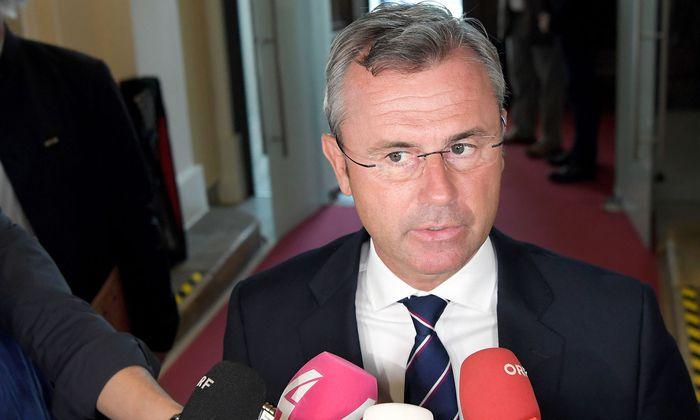 FPÖ-Chef Hofer will Staatssekretär für Pflege