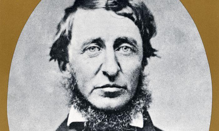 Der eigenwillige Mann aus Concord, Massachusetts: Henry David Thoreau.