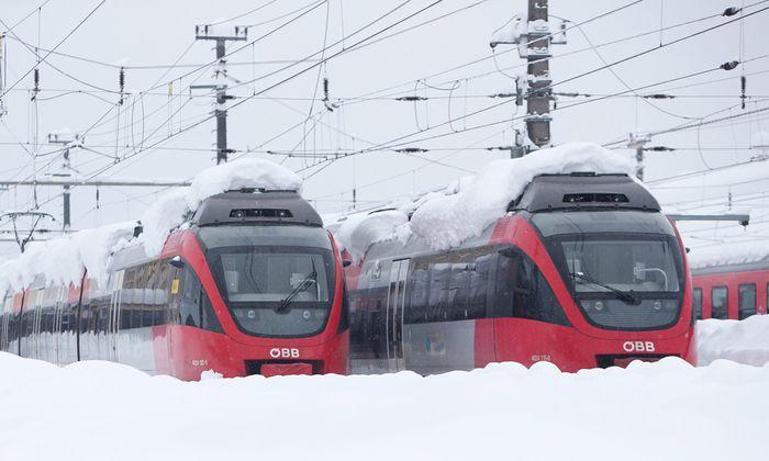 AUSTRIA WEATHER SNOW