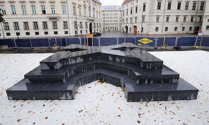 Das Deserteursdenkmal am Ballhausplatz in Wien ist das erste seiner Art in Österreich.
