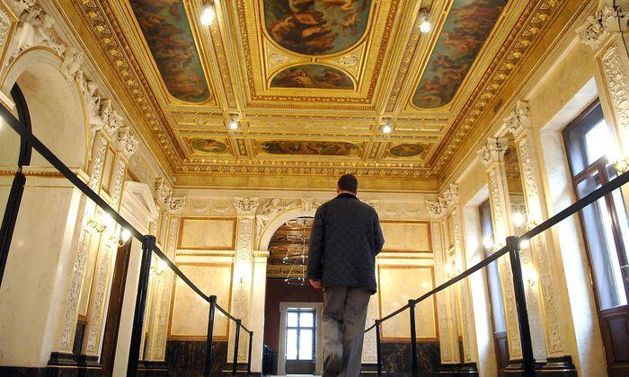 Im noblen Palais Epstein sollte die Ehrung stattfinden.