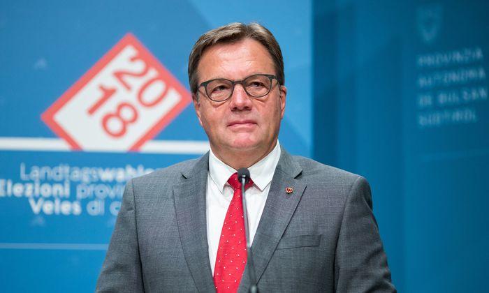 Tirols Landeshauptmann, Günther Platter.