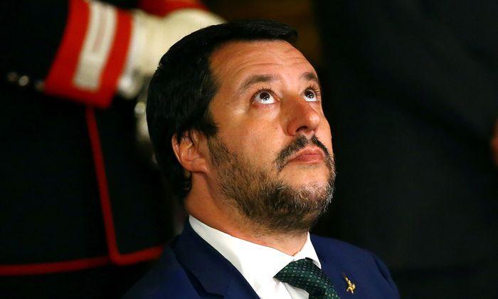 Italiens Innenminister, Matteo Salvini.