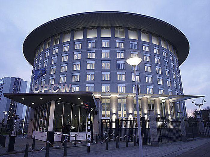 Hauptquartier der OPCW in Den Haag