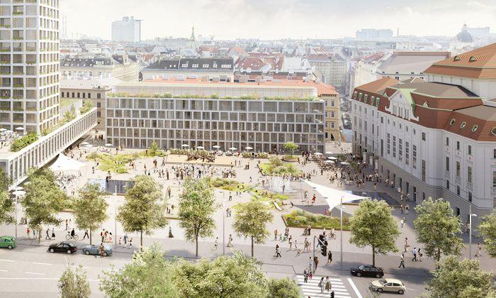 Der geplante 66 Meter hohe Turm am Wiener Heumarkt sorgte für heftige Diskussionen.