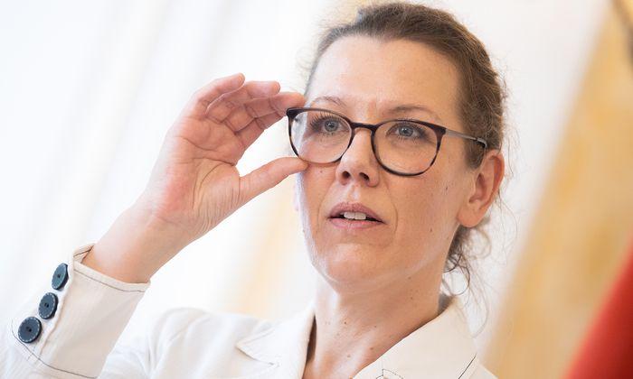 Bildungsministerin Iris Rauskala.