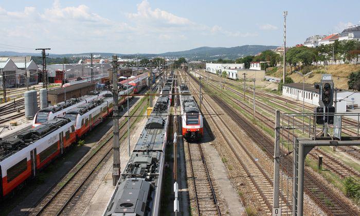 Nur wer den Planungspragmatismus überwindet, kann neue Chancen sehen. Westbahntrasse, Wien.