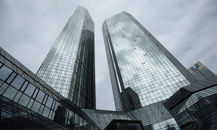 Dicke Luft bei der Deutschen Bank.