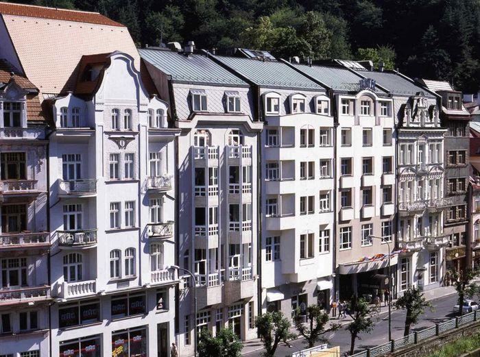 Außenansicht Hotel Dvorak in Karlsbad.