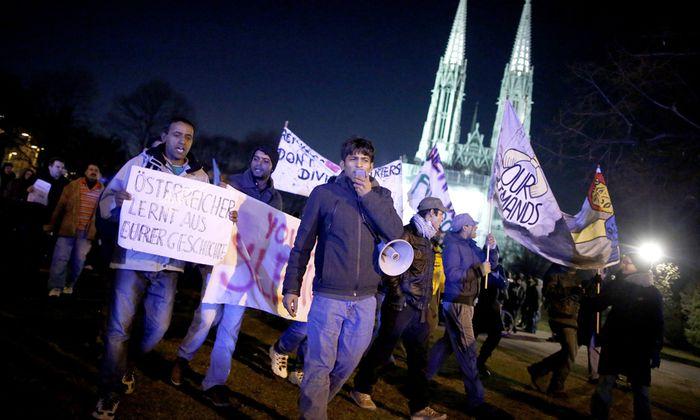 Protest Patt Votivkirche